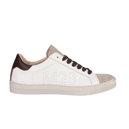 Star SneakerOff White +Chocolat+Multi Glitter