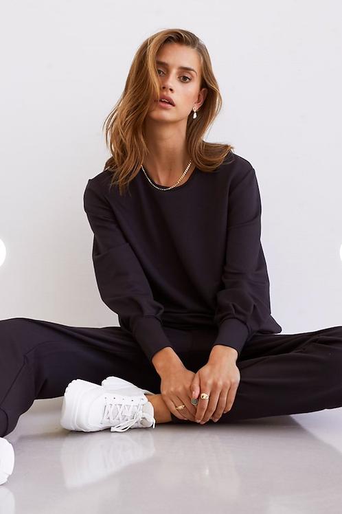 LN Finola Pants Lenzing Modal Black