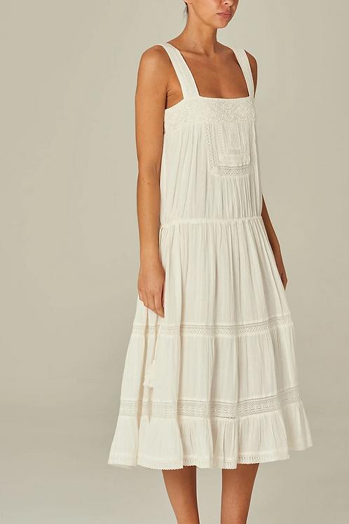Nola Dress White