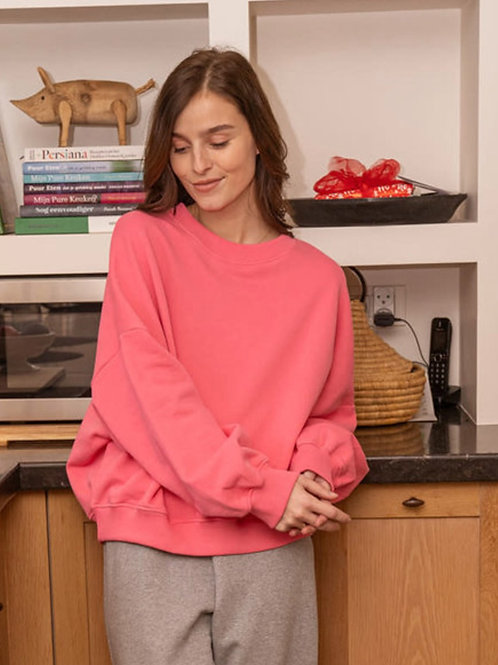 Sweater Happy Pink