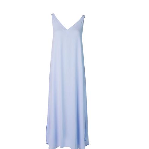 Leeandme Summer Slipdress  Georgette Light Bleu