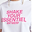 Thumbnail: Essentiel Zologne T-Shirt Wit/pink Shake Your Essentiel