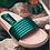 Thumbnail: Frida Clovis Sandal Flat Green