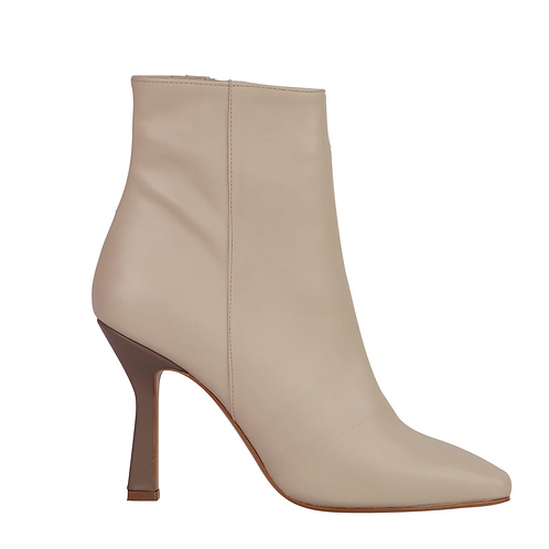 Paparazzi Ankle Boot Ivory+Mouse