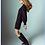 Thumbnail: Darlington Twill Satin Black Dress