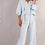 Thumbnail: Leeandme Trip Trousers Linnen Bleu