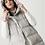 Thumbnail: Sleevless Puffer Jacket Beige/grey Acerbo