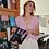 Thumbnail: Gilet Nick Short Sleeveless Pink