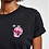 Thumbnail: Ziland T-shirt Withe Embo Black