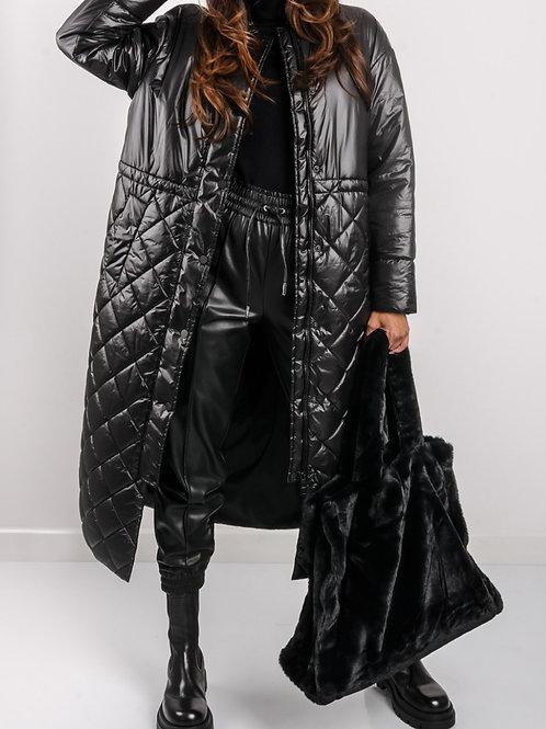 Twin-Set 212TP214H Coat Black