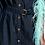 Thumbnail: Essentiel Zampire  PN23 Donkerblauwe Mini Jeans Jurk