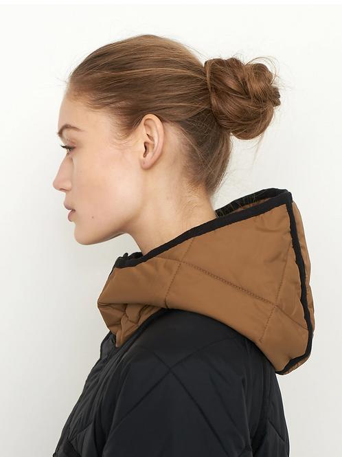 Prudence New Coat 54862 Black/camel 8001