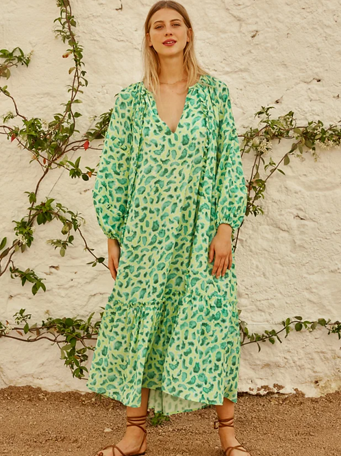 Dress Emilia Tropical Night