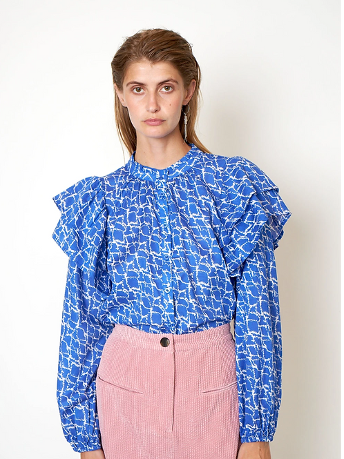 Dayly Shirt  Deep Ultramarine