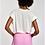Thumbnail: Essentiel Zinnia Linnen  T-Shirt White