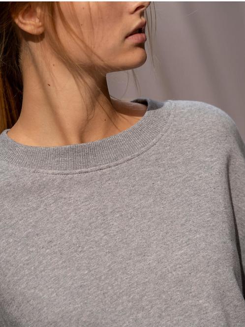 Sweater Happy Grey Mel