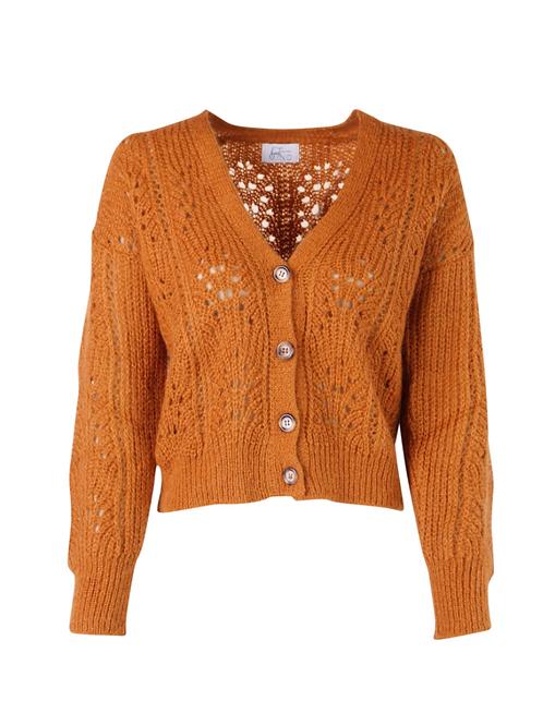 Kelly Cardigan Knitwear Cognac
