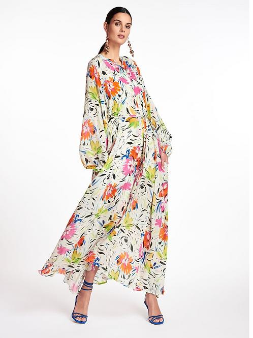 Essentiel Zabbage Belted Maxi Dress Summer Z1OW