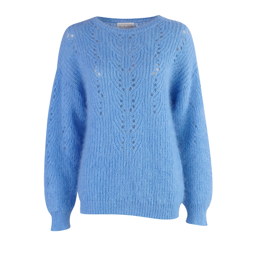Young Knit Pull Light Blue