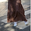 Thumbnail: Lee And Mee Chilly Long Skirt Leopard