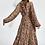 Thumbnail: Essentiel Zebel Maxi Hemd jurk Met Luipaardprint Print