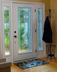 Paris Door Glass