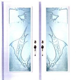 Swordfish Door Glass