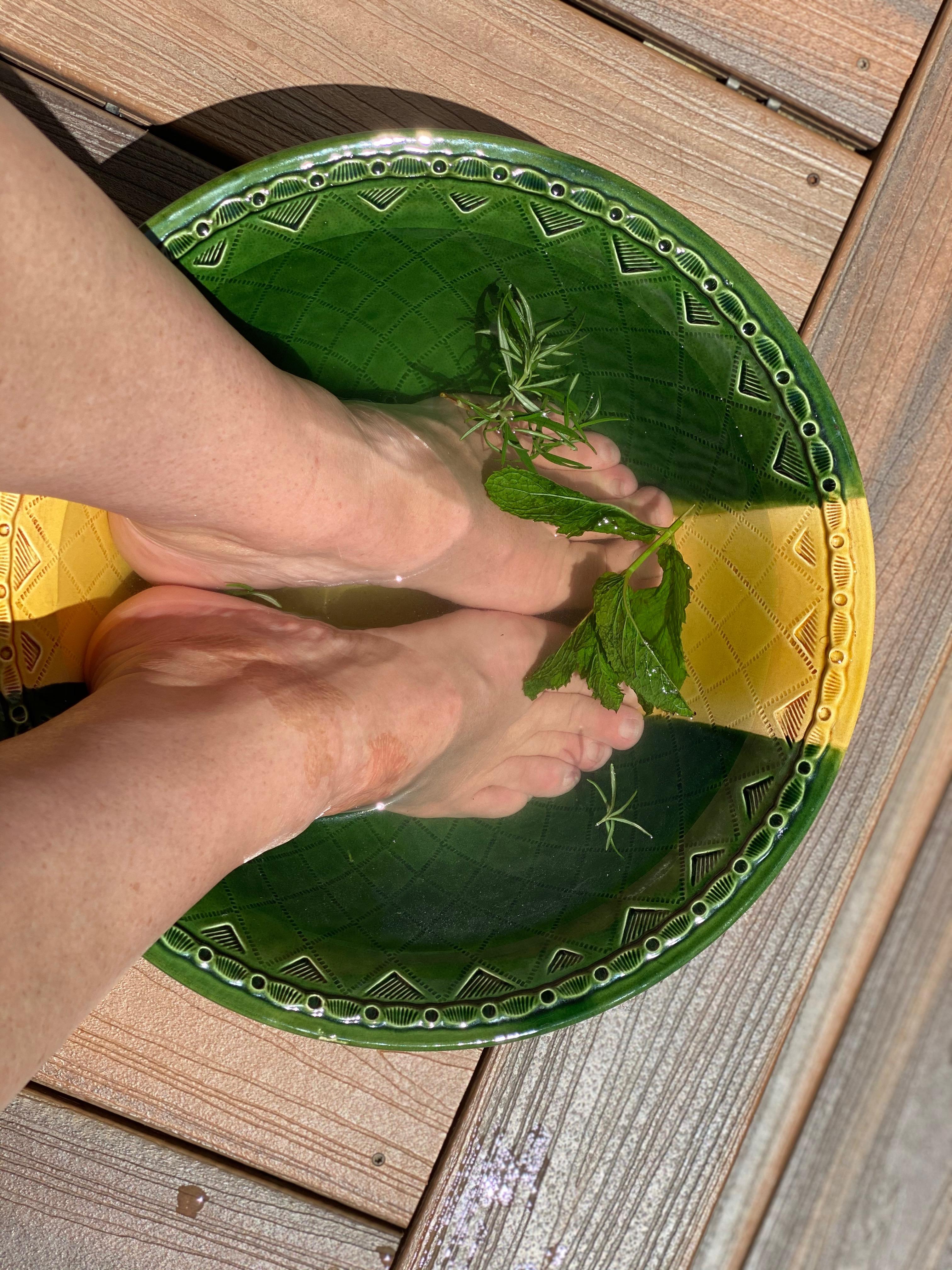 Herbal Foot Bath Recipe