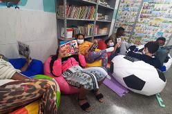 Biblioteca em PLENO VAPOR
