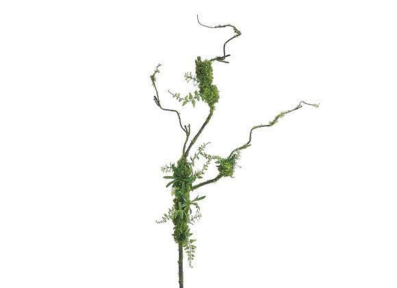 """44"""" Artificial Branch with Moss"""