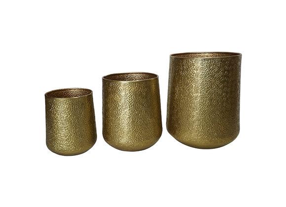 Aluminum Gold Planter