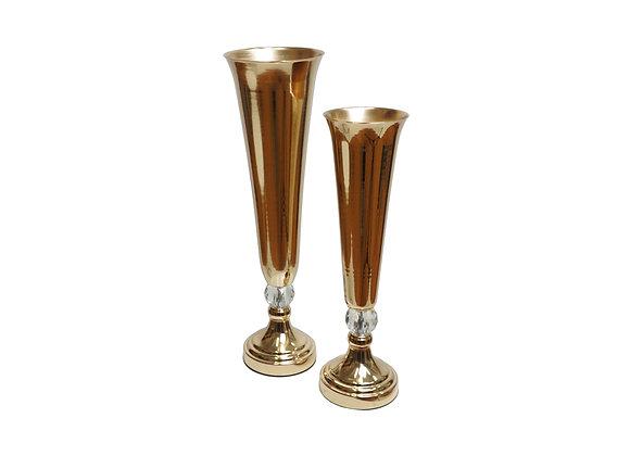 Gold Metal Urn