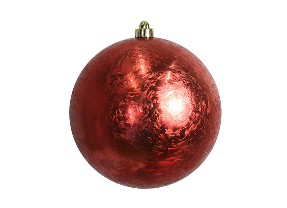 200mm Feather Smooth Ball Ornament