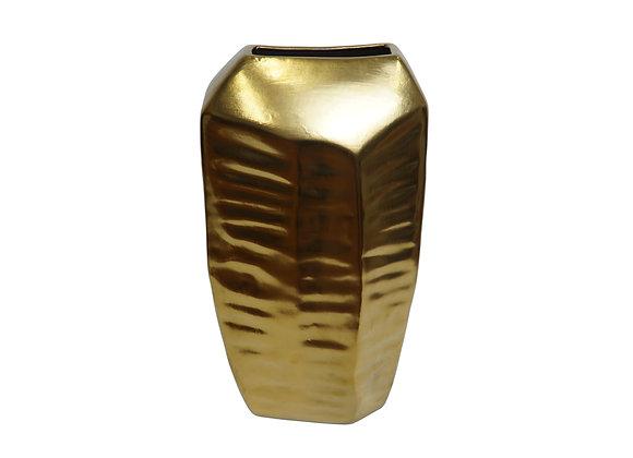 Golden Flower Vase (Small)