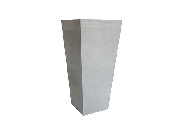 "Fiber Clay Pot (34& 3/4"" Tall)"