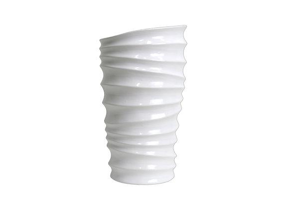 Cylindrical Ceramic Vase