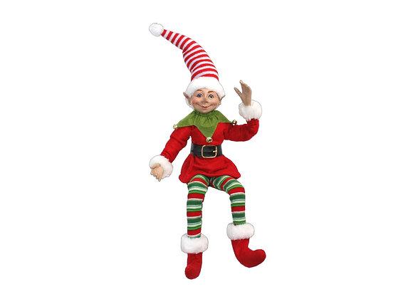 """21"""" Elf Ornament"""