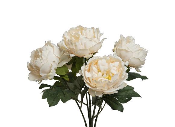 "18"" Peony Bush with 5 Flowers"