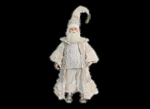 "26"" Ivory Splendor Santa"