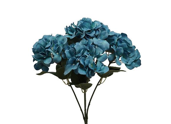 "18"" Hydrangea Bush with 5 Flowers"