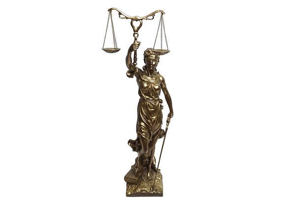 "30"" Lady Justice Sculpture"