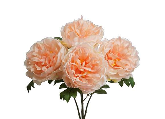 "18"" Large Peony Bush with 5 Flowers"