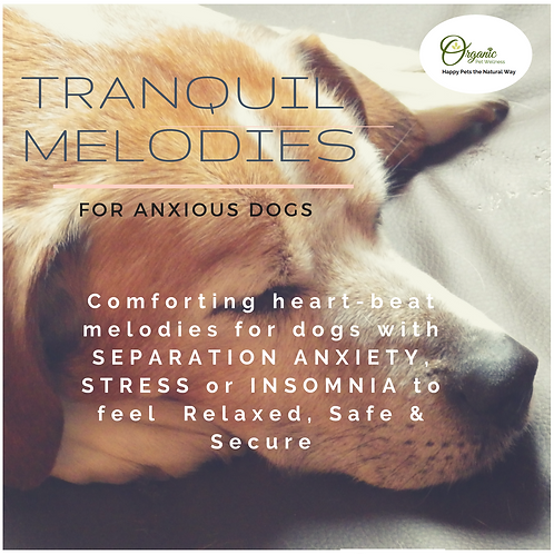 TRANQUIL MELODIES FOR DOGS - CD