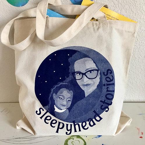 Sleepyhead Stories Tote Bag