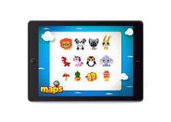 Maps_iPad_EmoticonsAnimals