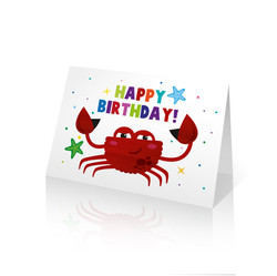 Greeting CardsCrab