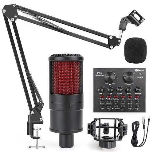 Profession Studio Microphone for PC Computer Recording Home
