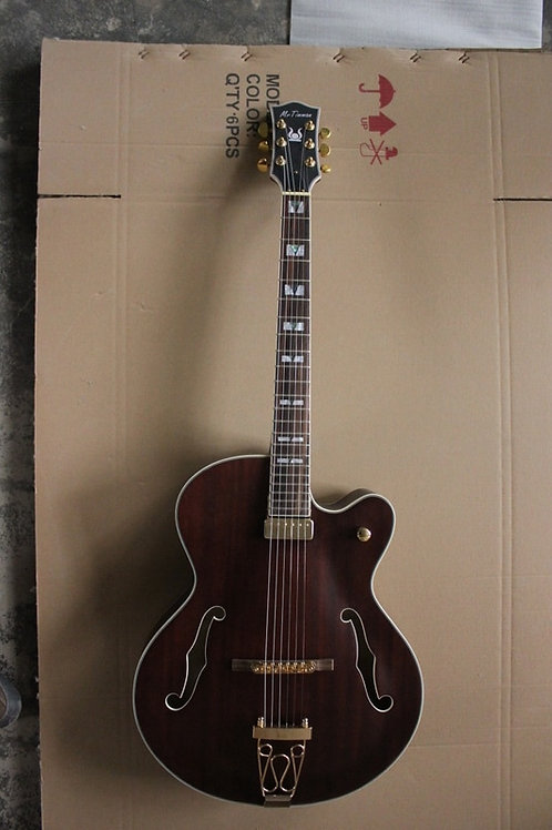 Free Shipping New High Quality P90 Pickups Archtop Guitar