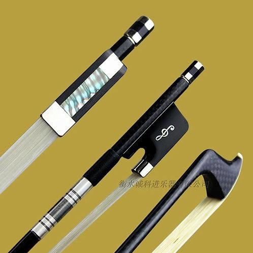 1 Pc Professional Plaid Carbon Fiber 4/4 Cello Bow Good Balance