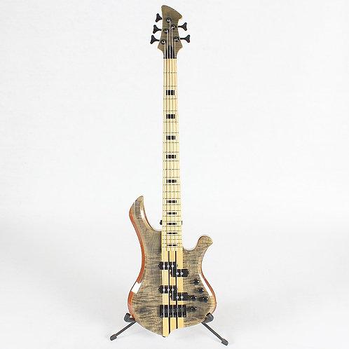 High Quality Neck Thru 5 Five String Electric Bass Guitar Free Shipping